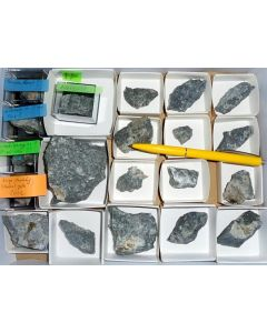 Aris, Windhoek, Namibia; small collection of well identified specimen; 1 lot of 21 specimen
