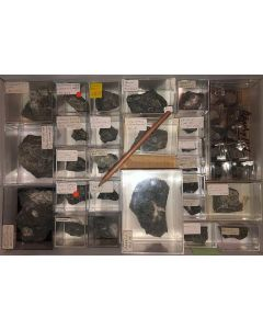 Aris, Windhoek, Namibia; small collection of well identified specimen; 1 lot of 29 specimen