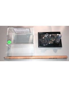 Hausmannite xx; N' Chwaning Mine, Kalahari Manganese Field, Kuruman, RSA; MM