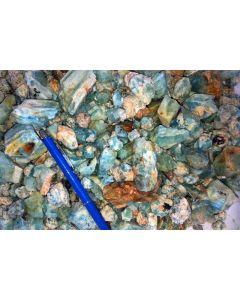 Beryl (aquamarine), Erongo, Namibia, 1 kg