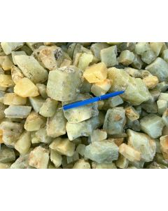 Calcite, yellow, Namibia, 1 kg
