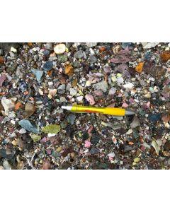 Gemstones + Decorative rocks (chips), mixed colours, 10 kg