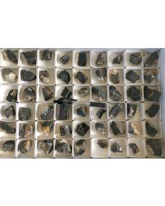 Arsenhauchecornite, different Ni-Co sulfides, Kamsdorf, Thüringen, Germany, 1 flat