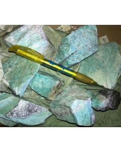 Amazonite, Iveland, Norway, 1 kg