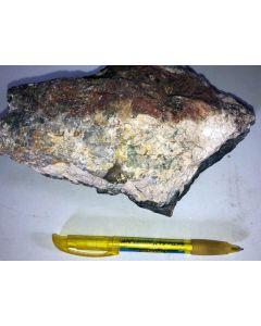 Phosphophyllite crystals; Hagendorf Süd, Bayern, Germany; HS