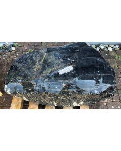 Obsidian (black, lace, gemmy!) Armenia, 350 kg