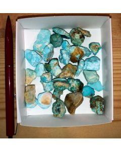 Turquoise, selected, Armenia, 92 g (one lot only!)
