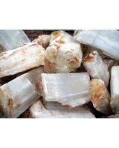 Selenit, weiß (Gips, Alabaster) Marokko, 100 kg