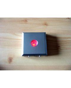 LED Untersetzer, 03 LED, eckig, silber