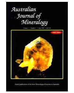 Australian Journal of Mineralogy Vol. 01, #1 1995