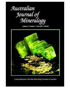Australian Journal of Mineralogy Vol. 05, #1 1999