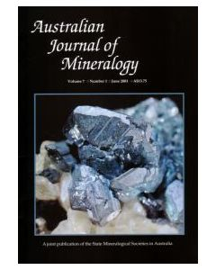 Australian Journal of Mineralogy Vol. 07, #1 2001