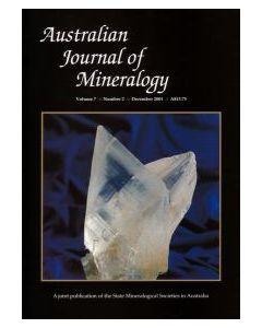 Australian Journal of Mineralogy Vol. 07, #2 2001