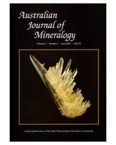 Australian Journal of Mineralogy Vol. 08, #1 2002