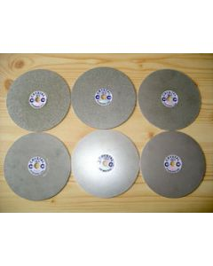 """Diamond lap, galvanic, 8"""" diameter, grain 1200"""