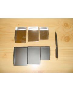 Edelsteinschaufel, schwarz, klein