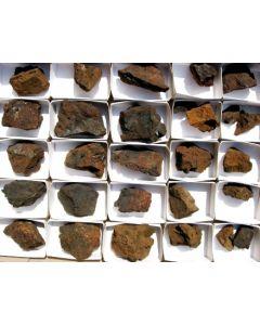 Chalcophanit xx + Pyrolusit xx, Laurion, GR, 1 Steige