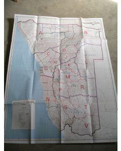 Farm Map Namibia (folded!), 1: 1.000.000