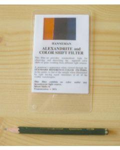 Hanneman Alexandrit und Farbwechsel-Filter