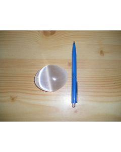 Selenite hand massage stone, 6.5 cm, 1 piece