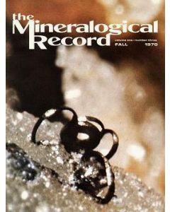 Mineralogical Record Vol. 01, #3 1970