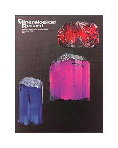 Mineralogical Record Vol. 24, #3 1993