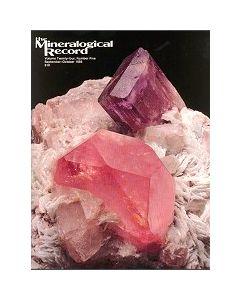 Mineralogical Record Vol. 24, #5 1993