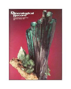 Mineralogical Record Vol. 25, #5 1994