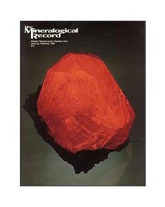 Mineralogical Record Vol. 27, #1 1996