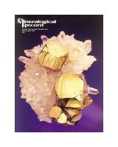 Mineralogical Record Vol. 28, #2 1997