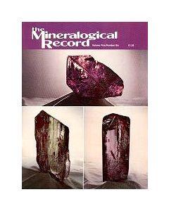 Mineralogical Record Vol. 05, #6 1974